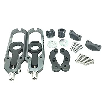 FATExpress Motorcycle CNC Aluminum Chain Adjusters Tensioner Catena with Spool For 2009-2016 BMW S1000R S1000RR S 1000RR HP4 2010 2011 2012 2013 2014 2015 09-16 Red