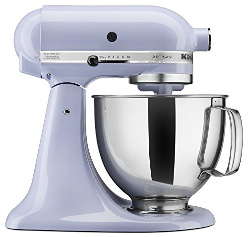 Cream Kitchen - KitchenAid KSM150PSLR Artisan Series 5-Qt. Stand Mixer with Pouring Shield - Lavender Cream