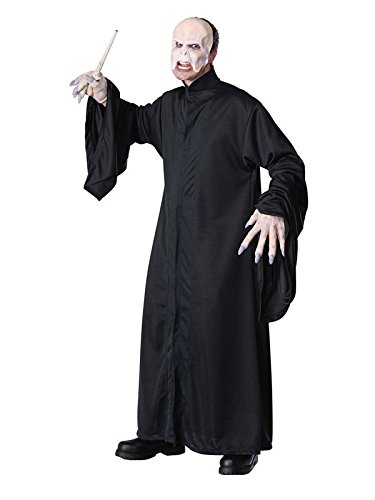 Rubie's Costume Harry Potter Adult Voldemort Robe, Black, One Size]()