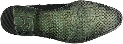 Bugatti 311191011000, Zapatos de Cordones Derby para Hombre Negro (schwarz 1000Schwarz 1000)