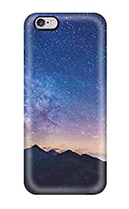 2015 7293915K12289576 6 Plus Scratch-proof Protection Case Cover For Iphone/ Hot Milky Way Mountains Phone Case