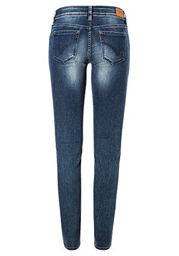 Wash Patriot Para Vaqueros blue Skinny Aleena Tight 3624 Azul Timezone Mujer ZwCzf