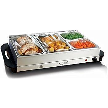 Amazon Com Megachef Buffet Server Amp Food Warmer With 4