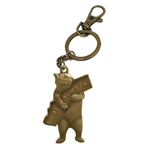 SF Mercantile California Bear Hug Keychain