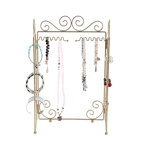 An efficient convenient jewelry stand that is so well made.