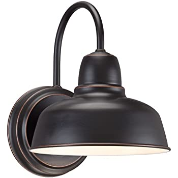 "Urban Barn 11 1/4"" High Bronze Indoor-Outdoor Wall Light"