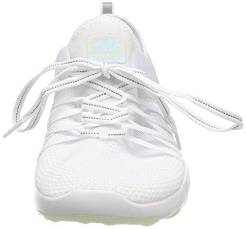 NIKE Women's Free TR 7 Training Shoes (9, White/Grey/Blue-M) by NIKE (Image #4)