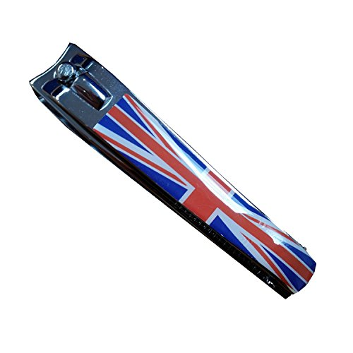 My London Souvenirs Union Jack British Flag Britain London United Kingdom Nail Clipper