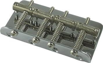 Vintage style stainless steel bridge screws for  Fender jazz or precision bass