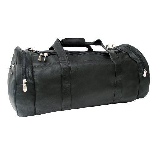 Piel Leather Gym Bag, Black, One Size by Piel Leather (Image #1)