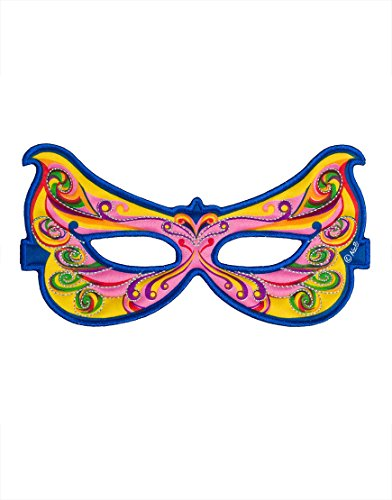 Rainbow Fairy Mask (Rainbow Butterfly Party Mask)