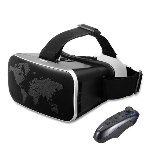 2 opinioni per Buykuk Occhiali 3D per realtà virtuale, visore VR con lenti regolabili e