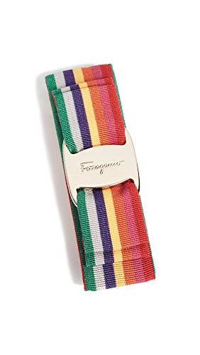 Salvatore Ferragamo Women's Rainbow Vara Bow Barrette, Rainbow, One Size by Salvatore Ferragamo