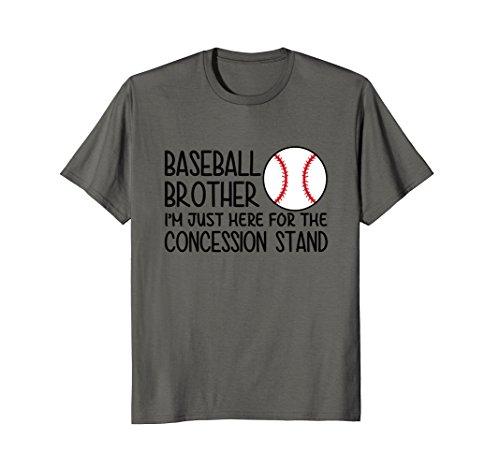 Funny Baseball Brother Shirt, Sport Baseball Tshirt for Men ()