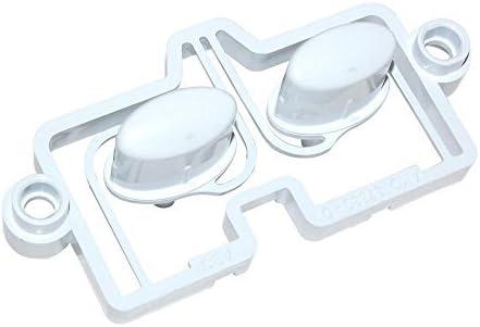 Creda C00202723 - Botones para lavadora
