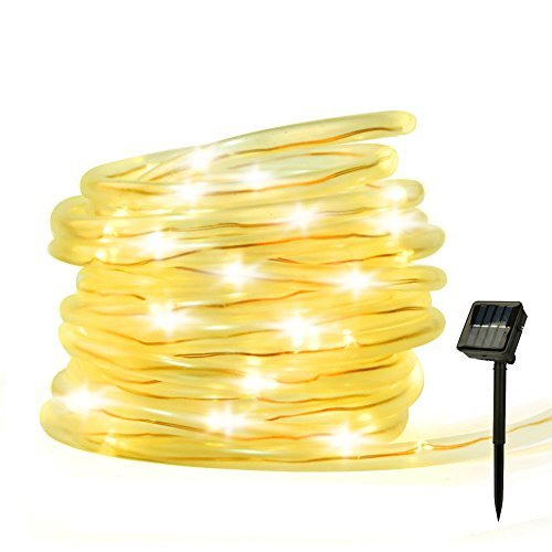 Led Rope Light Ip44 Solar Powered in US - 4