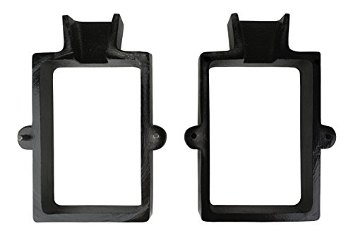2 Piece Cast Iron Flask Mold Frame for Sand Casting Jewelry Making Metal Casting Tool