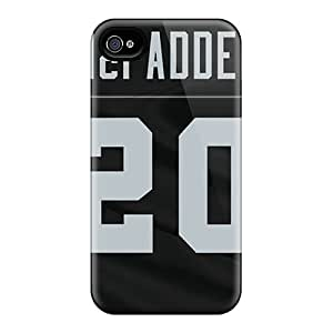 Top Quality Case Cover For Iphone 4/4s Case With Nice Oakland Raiders Appearance