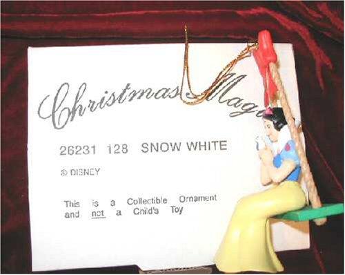 - DISNEY Christmas Magic SNOW WHITE Tree Ornament GROLIER 26231-128