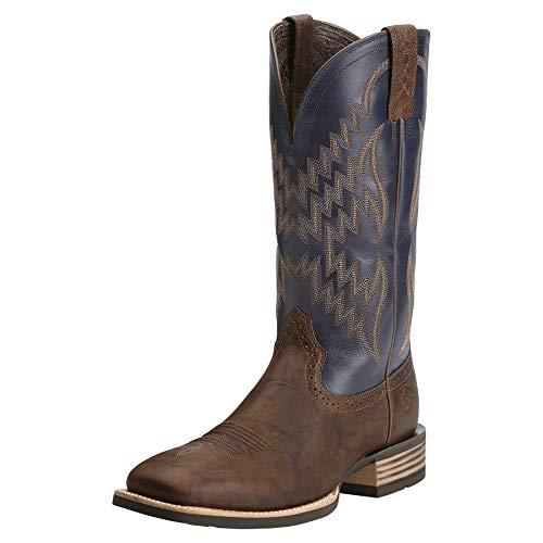 ARIAT Men's Tycoon Western Boot Bar Top Brown Size 7 W Us (Designs Top Outdoor Bar)