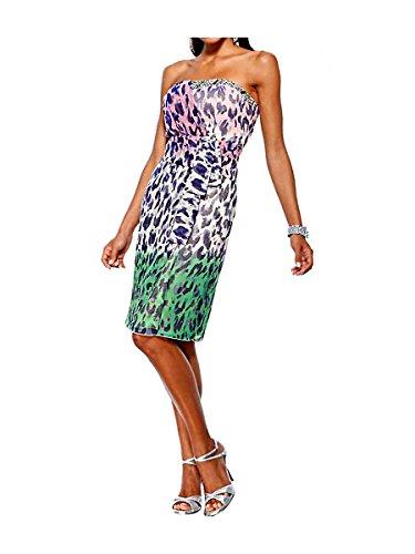 Opaco Opaco Multicolore Donna Top Heine Vestito XR0qA
