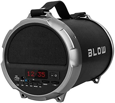Blow - Bt1000 - Altavoz portátil, subwoofer, mp3, FM, Bluetooth, Bazooka acustica