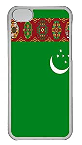 iPhone 5C Cases & Covers - Turkmenistan Flag Custom PC Soft Case Cover Protector for iPhone 5C - Transparent