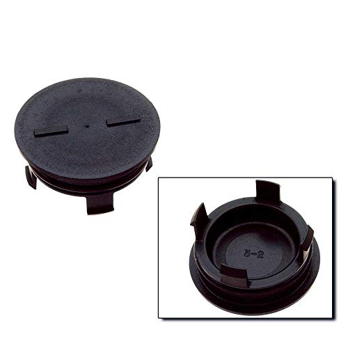 Ponis-Limos - Black Cylinder Head Rear Cam Plug with Seal For Honda 12513 P72 003 12513 P72 003/225 01023 310 / KF811285