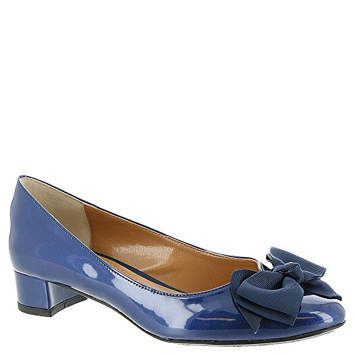 Renee Navy Classic J Pumps Womens Closed Cameo Toe 1FwqqdxX0