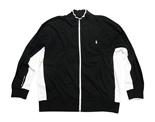 Polo Ralph Lauren Men's Full-Zip Interlock Track Jacket (XX-Large, Polo Black Multi)
