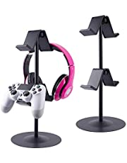 $23 » Controller Holder, fes Game Controller Stand Holder Storage Organizer Gamepad with Multiple Adjustable Height and Direction Brackets Compatible for Xbox ONE 360 Switch PS4 STEAM PC Nintendo Stander Ⅰ