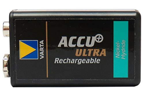 4 x 7.2 Volt Varta 150 mAh 6/8H NiMH Batteries (9V Size) by Varta