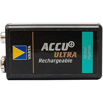 Amazon.com: 7.2 Volt Varta 150 mAh 6/8H NiMH Battery (9V