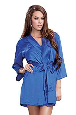 iCollection Women's Satin Robe