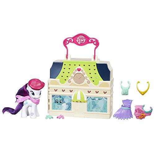 My Little Pony Friendship is Magic Rarity Dress Shop Playset]()