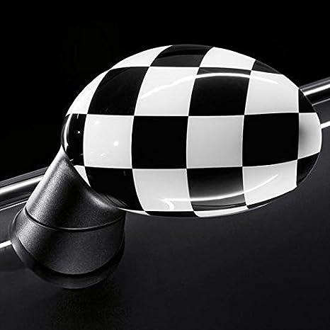 Auténtica MINI Cooper bandera a cuadros espejo, DERECHO (con powerfold Opción Sa313)