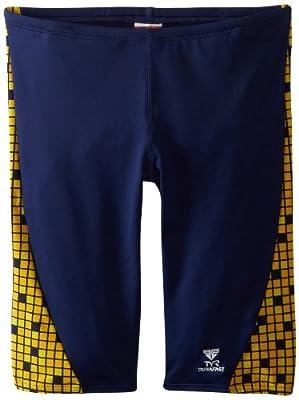 TYR Men's Team Check Jammer Swim Suit