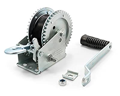 Camco 50000 Winch – 2,000 lb with 20' Strap