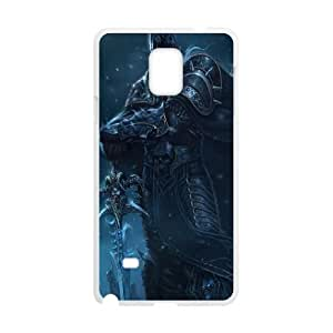 Samsung Galaxy Note 4 Cell Phone Case White Wow Lich King SUX_951674