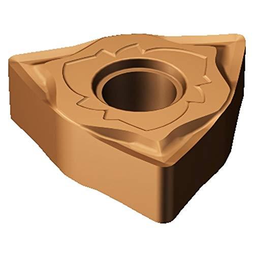 - Sandvik Coromant WNGG 43(.30)-SGF 1115 T-Max P Insert for Turning, Carbide, Trigon, Neutral Cut, 1115 Grade, (Ti, Al) N+()2O3 (Pack of 10)