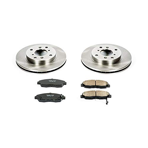 - Autospecialty KOE1239 1-Click OE Replacement Brake Kit