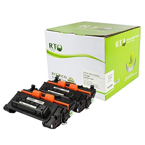 (Renewable Toner Compatible Toner Cartridge Replacement for HP 64A CC364A LaserJet P4014 P4015 P4515 P4515 (Black, 2-Pack))