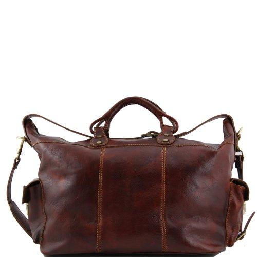 81409384 - TUSCANY Leather: Porto - Sac de voyage en cuir, marron