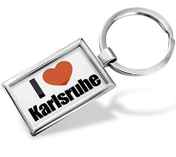 Schlüsselanhänger Ich Liebe Karlsruhe Region Baden Württemberg