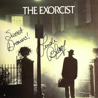 (Linda Blair signed The Exorcist Laser Disc Sweet Dreams!- Hologram - Tristar Productions Certified)
