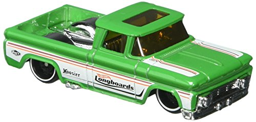 Hot Wheels 2017 Surf's Up Custom '62 Chevy Pickup 255/365, Green]()