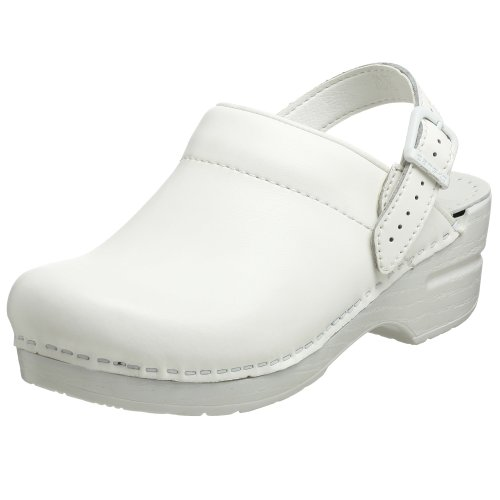 Dansko Women's Ingrid White Box Clog/Mule 41 (US Women's 10.5-11) Regular