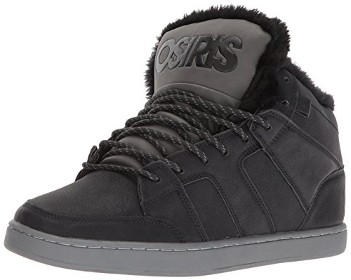 388f331b51f10 Osiris Men s Convoy Mid SHR Skate Shoe Black Charcoal Work 5.5 ...