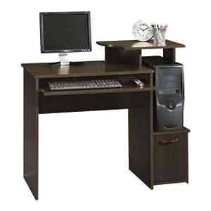 Amazon Com Sauder Beginnings Computer Desk Cinnamon