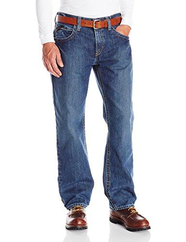 Ariat Men's Flame Resistant M3 Loose Fit Jean, Flint, 31x30 - Flame Resistant Apparel